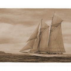 05 Errol Flynn's Yacht ZACA - Sepia