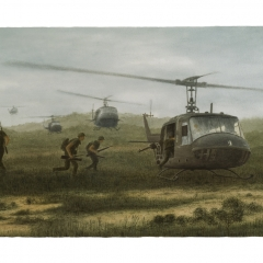 12 Vietnam - 1966 Huey Choppers